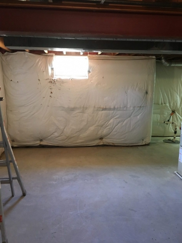 Before Basement Remodeling Frederick MD