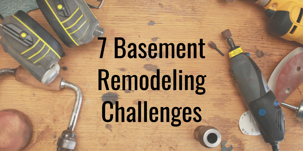 Basement remodeling challenges- Home Renovations in Herndon VA & Ijamsville MD Areas